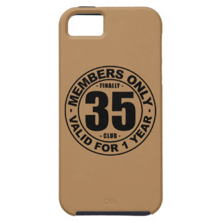 Finally 35 club iPhone SE/5/5s case