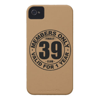 Finally 39 club iPhone 4 cover