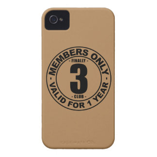 Finally 3 club iPhone 4 cover