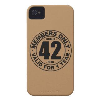 Finally 42 club iPhone 4 Case-Mate case