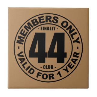 Finally 44 club tile