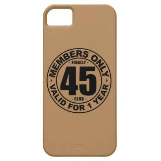 Finally 45 club iPhone SE/5/5s case