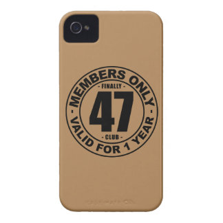 Finally 47 club iPhone 4 cover
