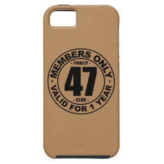 Finally 47 club iPhone SE/5/5s case