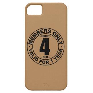 Finally 4 club iPhone SE/5/5s case