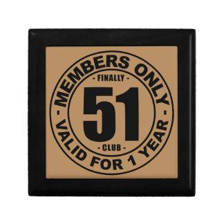 Finally 51 club jewelry box