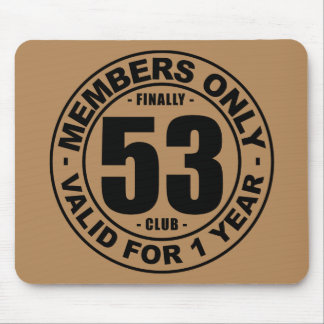 Finally 53 club mouse pad