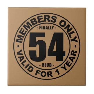 Finally 54 club ceramic tile