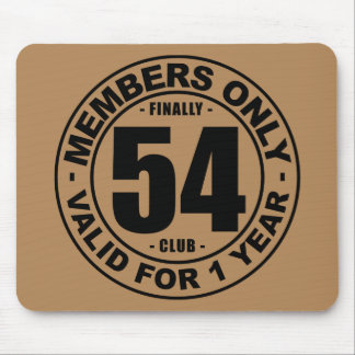 Finally 54 club mouse pad