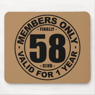 Finally 58 club mouse pad