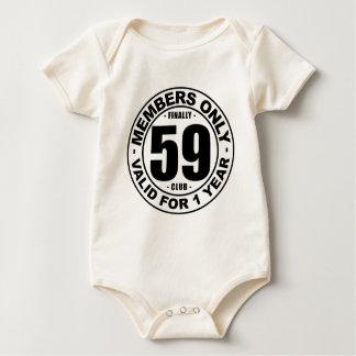 Finally 59 club baby bodysuit