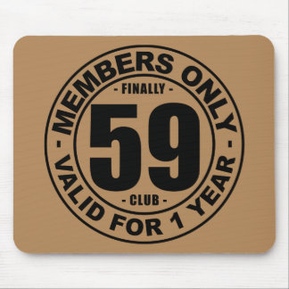 Finally 59 club mouse pad