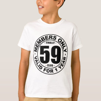 Finally 59 club T-Shirt