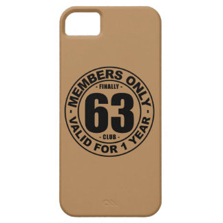 Finally 63 club iPhone SE/5/5s case