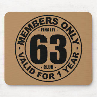 Finally 63 club mouse pad