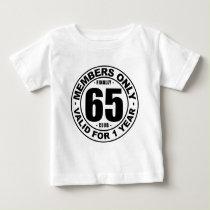 Finally 65 club baby T-Shirt