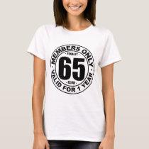 Finally 65 club T-Shirt