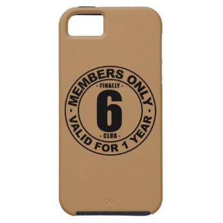 Finally 6 club iPhone SE/5/5s case