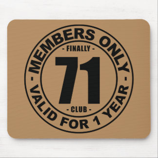 Finally 71 club mouse pad