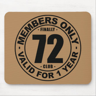Finally 72 club mouse pad