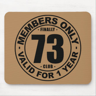 Finally 73 club mouse pad