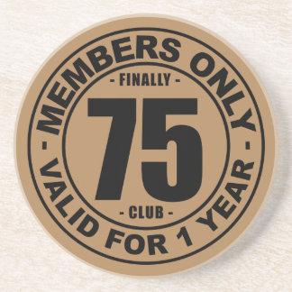 Finally 75 club coaster