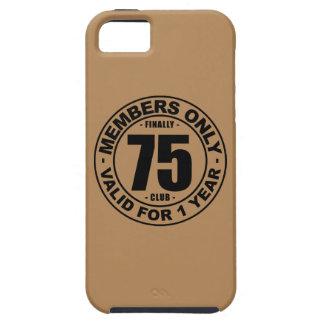 Finally 75 club iPhone SE/5/5s case