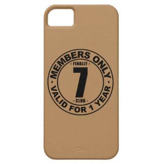 Finally 7 club iPhone SE/5/5s case