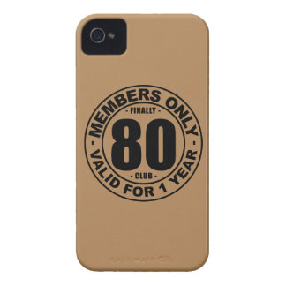 Finally 80 club iPhone 4 cover