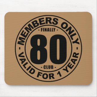 Finally 80 club mouse pad