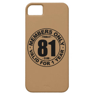 Finally 81 club iPhone SE/5/5s case