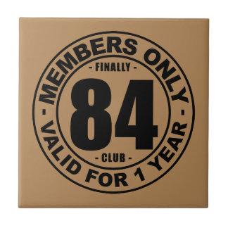 Finally 84 club tile