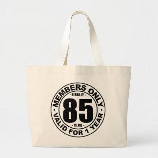 Finally 85 club large tote bag