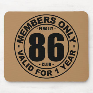 Finally 86 club mouse pad