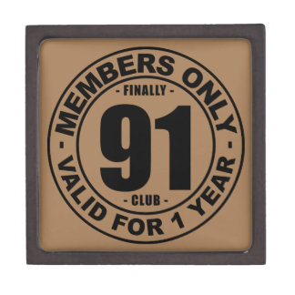 Finally 91 club gift box