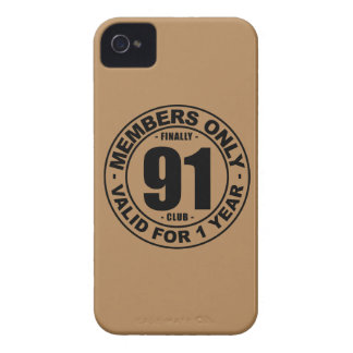 Finally 91 club iPhone 4 case