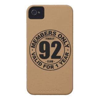 Finally 92 club iPhone 4 case