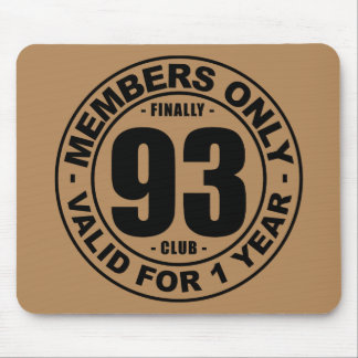 Finally 93 club mouse pad