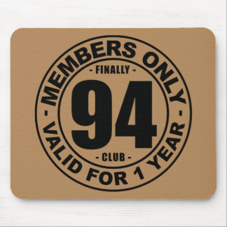 Finally 94 club mouse pad