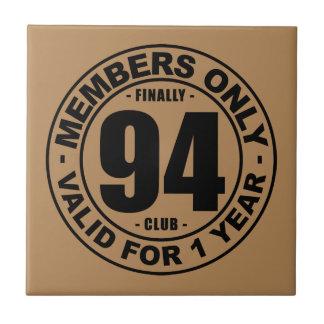 Finally 94 club tile