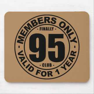 Finally 95 club mouse pad
