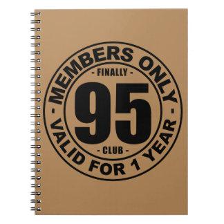 Finally 95 club notebook