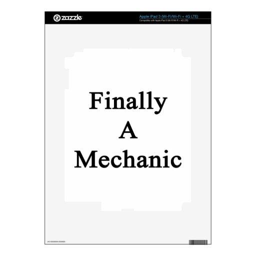 Finally A Mechanic Skins For iPad 3