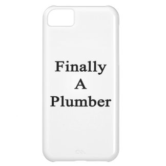 Finally A Plumber iPhone 5C Case