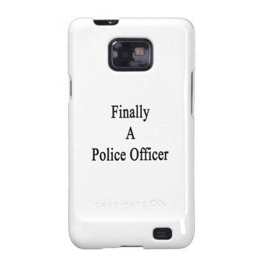 Finally A Police Officer Galaxy S2 Covers
