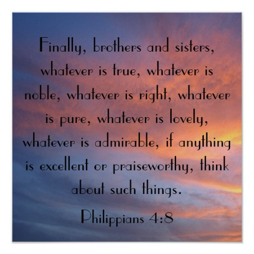 Finally brothers and sisters bible verse sunrise print