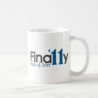 Finally Class of 2011 Coffee Mugs