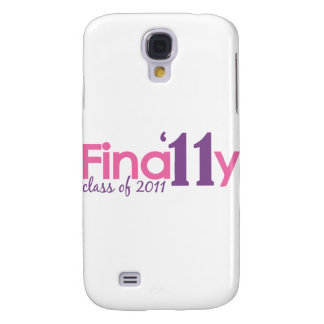 Finally Class of 2011 Pink Samsung Galaxy S4 Covers