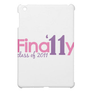 Finally Class of 2011 Pink Cover For The iPad Mini