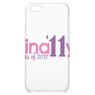 Finally Class of 2011 Pink Cover For iPhone 5C